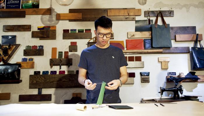 手縫皮具材料包 隨心隨時隨地DIY