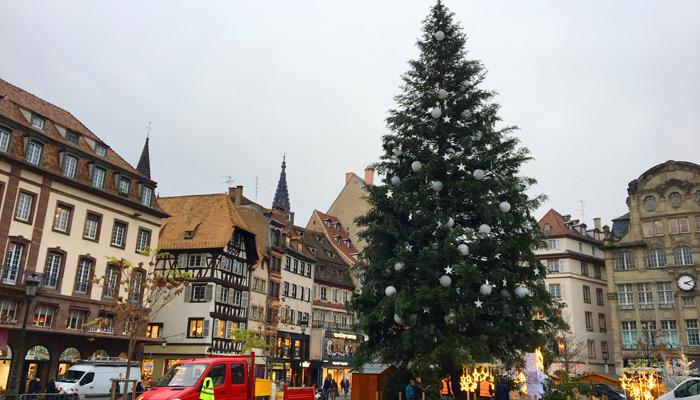 古老市集過聖誕 法國斯特拉斯堡