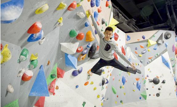 攀石消閒合體 玩樂學解難
