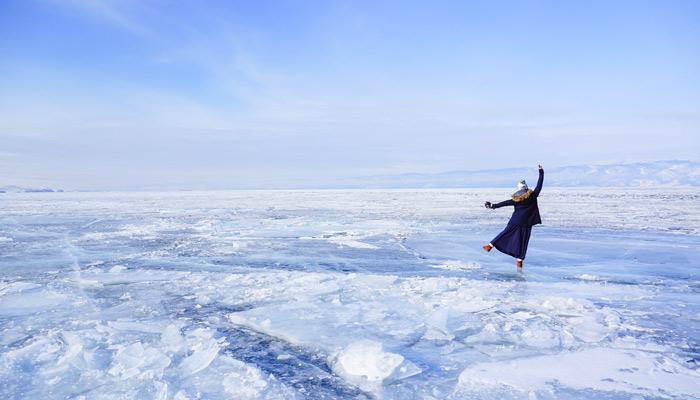 西伯利亞 傳說中的藍冰湖