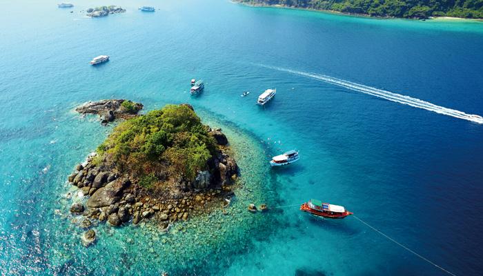 純氧。深度。綠悠遊 泰國灣