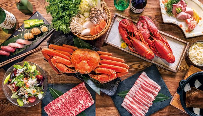 $568日火鍋任食松葉蟹龍蝦和牛