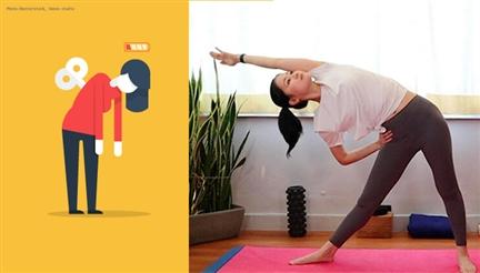 假日瑜伽拉筋操全身鬆一鬆