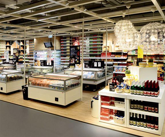 IKEA九龍灣分店的瑞典美食廊擴充了,供應過百款瑞典美食。