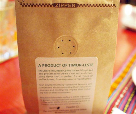 咖啡包裝一絲不苟,袋上有單向活性氣孔把咖啡好好保存。