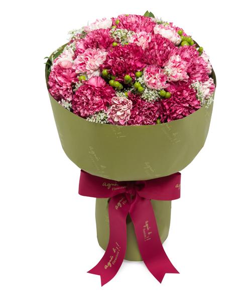 agnès b. FLEURISTE 粉紅及桃紅康乃馨$980