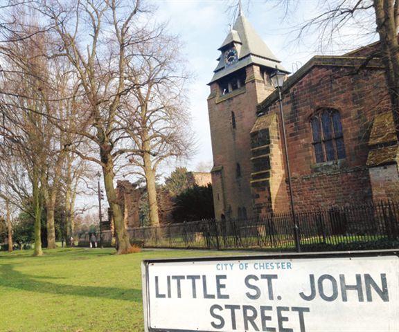 Chester內的舊式建築,歴久不衰。