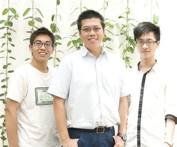 張子杰(左)和王偉龍(右)是今屆學生大使。