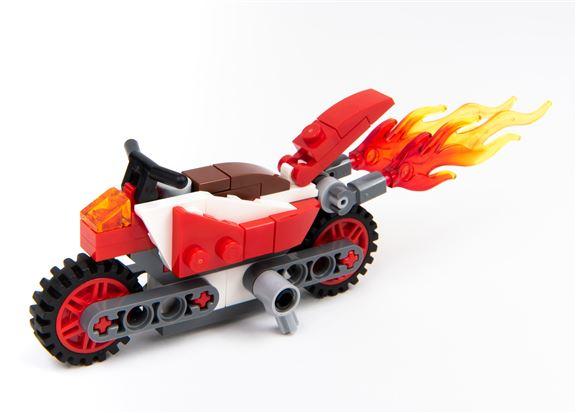 LEGO屯市創意工場 小禮物 烈焰摩托車
