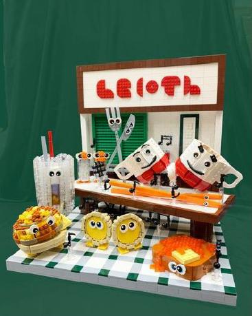LEGO屯市創意工場 Jared Chan幻想的冰室狂想曲作品