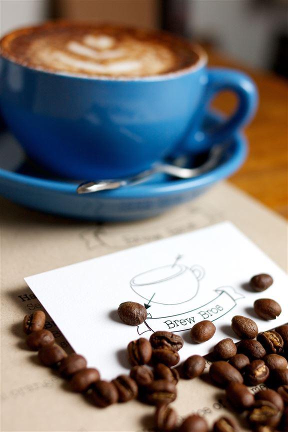 店主曾在澳洲工作,沖泡的咖啡充滿當地的特色。