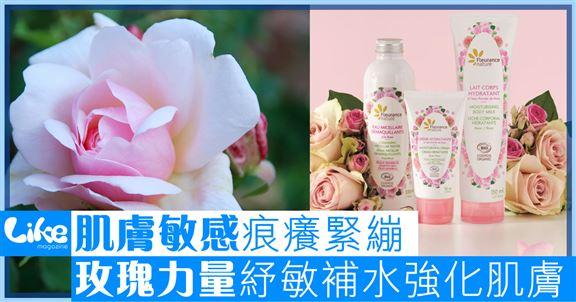 肌膚敏感痕癢緊繃        玫瑰力量抗敏補水