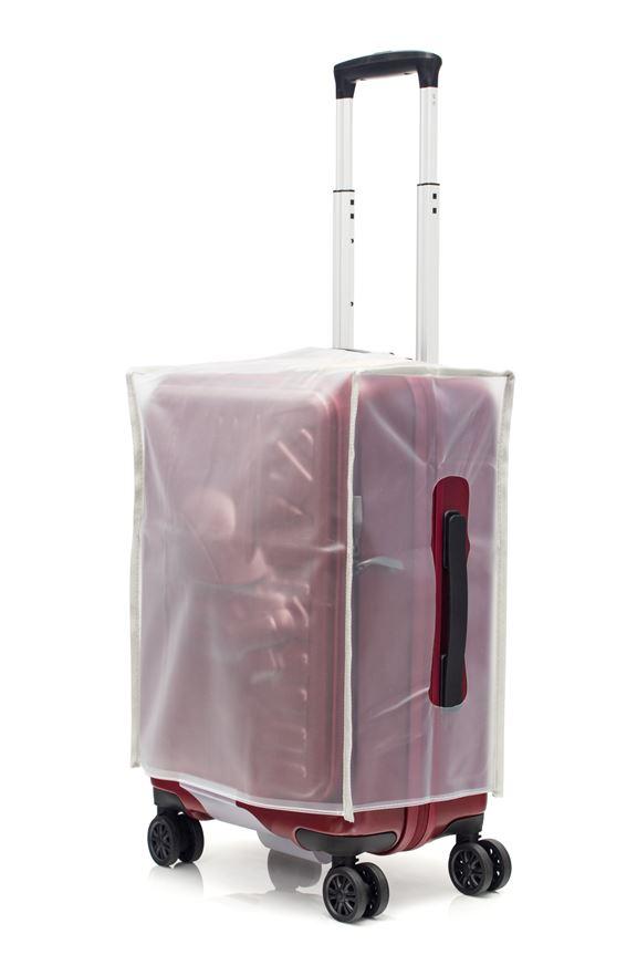 附箱附送透明篋套,全面保護唔怕刮花。