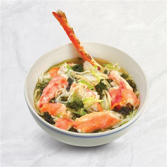 日本北海道鱈場蟹腳醬油拉麵