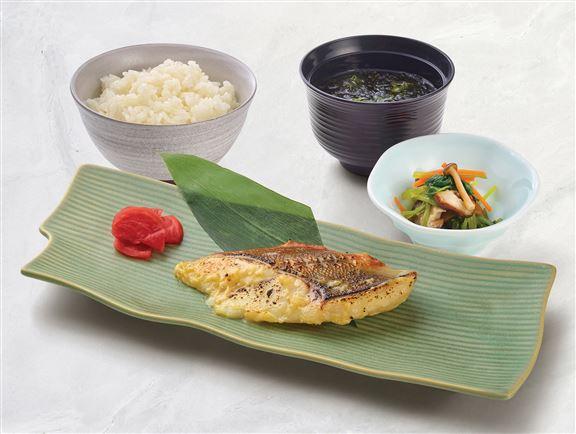 西京燒紐西蘭野生橙魚定食
