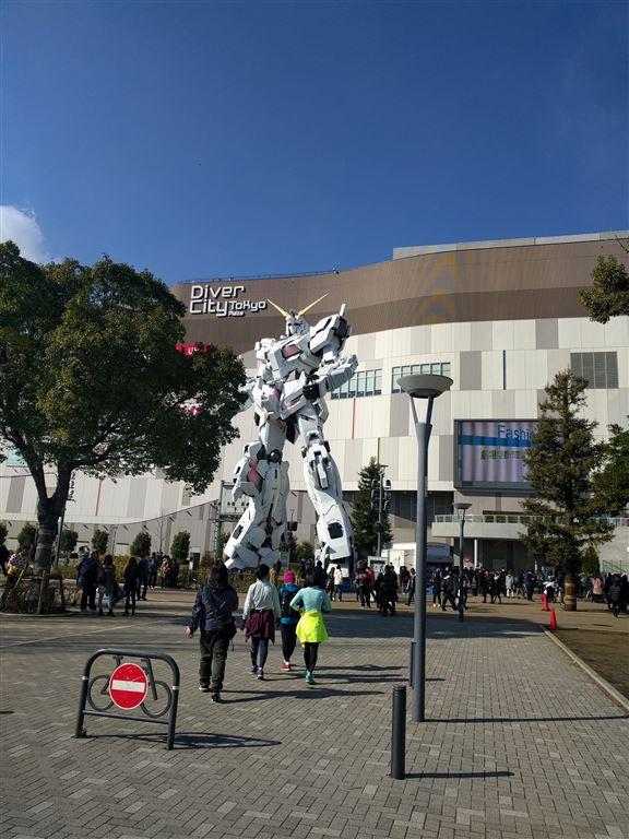 東京台場的DiverCity Tokyo Plaza