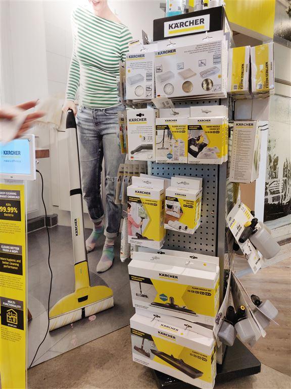 店內供應不同型號產品的配件,迎合用家需要。
