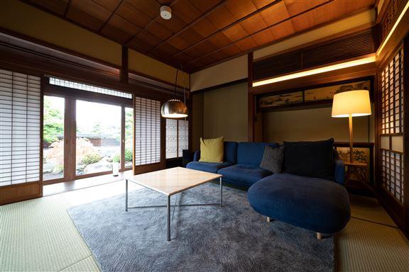 「飯塚邸」是關東地區第一間亦是唯一一間以「有形文化財」改建營運的酒店。