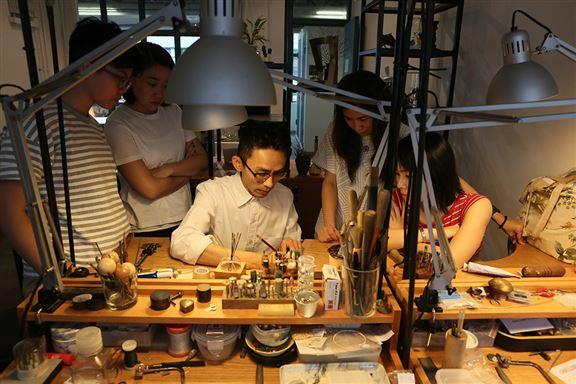 戒指工作坊讓參加者可以第一身體驗金工工匠的日常。