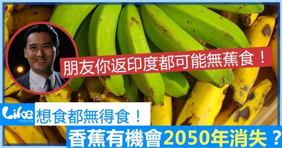 全球暖化 香蕉有機會2050年消失?