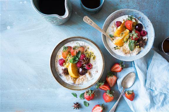 不能吃澱粉的晚上,也可以以水果取代正餐。