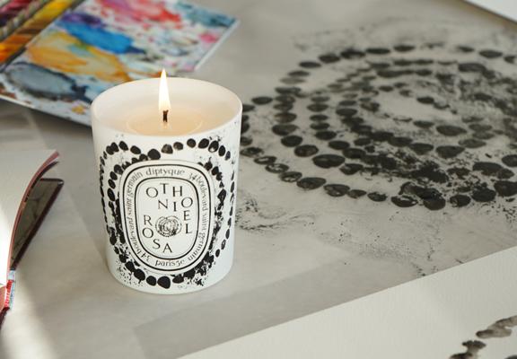 Diptyque Othoniel Rosa香氛蠟燭
