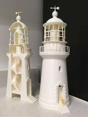 燈塔古文獻與3D模型小型展覽