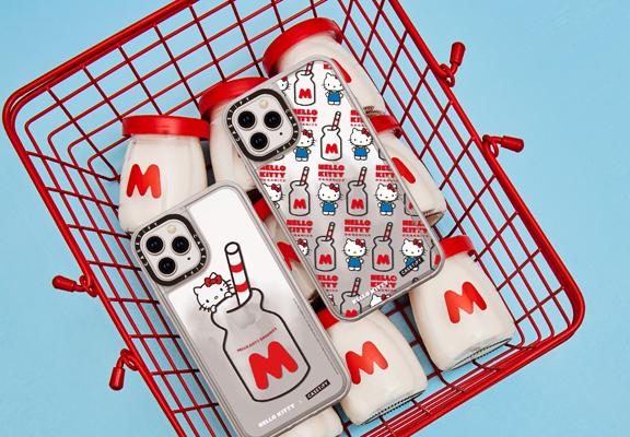 牛奶樽圖案設計很可愛,勾起童年回憶。
