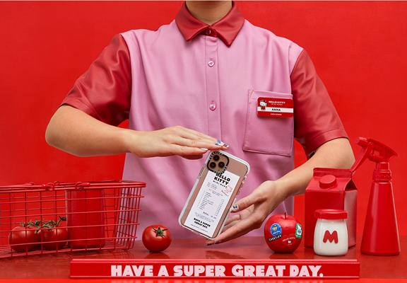 超市單據設計,適合低調Hello Kitty迷。