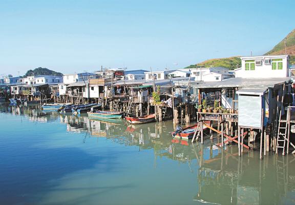 大澳擁有純樸漁鄉風情,風景獨特,素有「東方威尼斯」美譽。