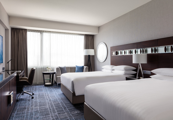 住宿計劃包一晚豪華雙床客房住宿。