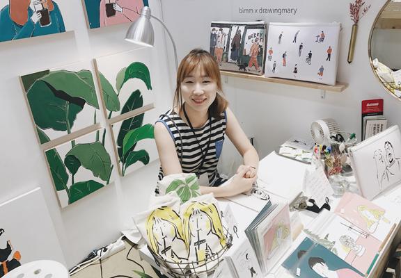 韓國藝術家drawingmary
