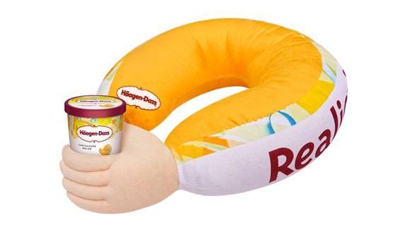買雪糕滿指定金額送「男友手臂枕」