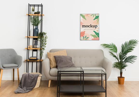 只要簡單在家擺放一些植物或盆栽,家居整體觀感已有改變。