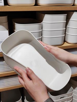 PE儲物盒材質具韌性,輕度扭曲都可以。