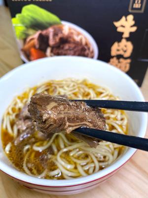 牛肋條肉質軟嫩,油花均勻,牛味十足。重點是很大件,食得很滿足!
