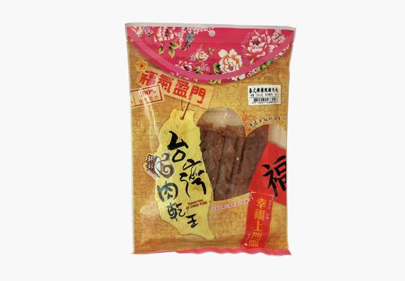 軒記「泰式檸檬辣豬肉乾」辣勁中帶酸甜,口味刺激得來又清新,創新口味,在台灣推出以來大受歡迎。