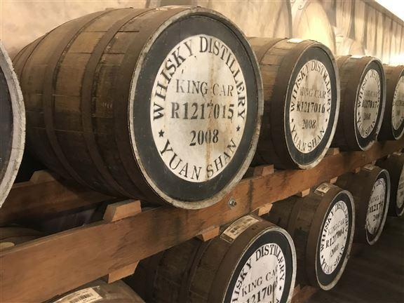 釀製威士忌要用雪梨木桶陳年才能產生獨特的香氣。