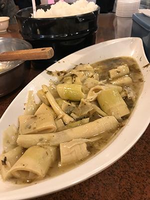 雞油焢封桂竹筍