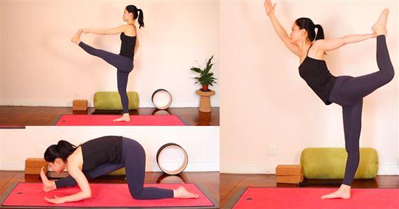 在家工作的瑜伽Break | 大腦放鬆身體動起來