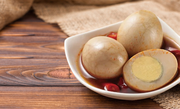 懶人營養速食好選擇│台灣即開即食辣味茶葉蛋