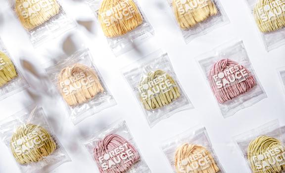 台灣七彩手工日曬麵 │每口都是自然的味道