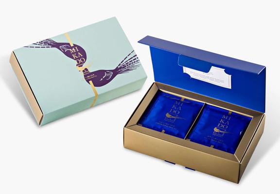 「MIKADO帝鐸台茶十八號紅玉立體茶包禮盒」用心的設計曾獲金點設計獎,用作送禮的話,得體大方。