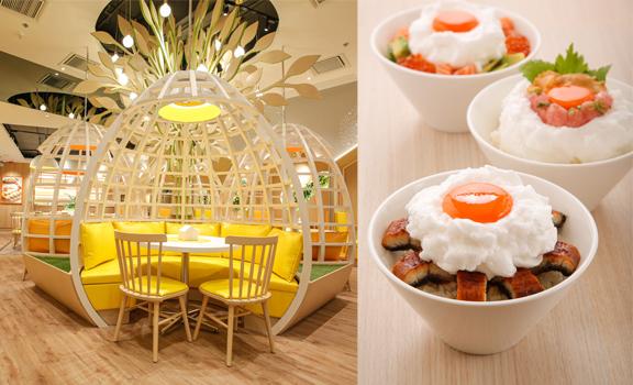 奧海城日本蛋料理專門店│人氣必試海膽金鎗魚生雞蛋拌飯