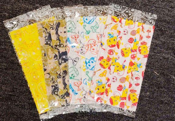 獨立包裝印花口罩 $35 /10個(任選款式)