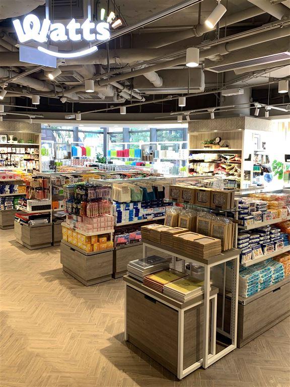 日本人氣100円家品店Watts進駐一田百貨沙田店。