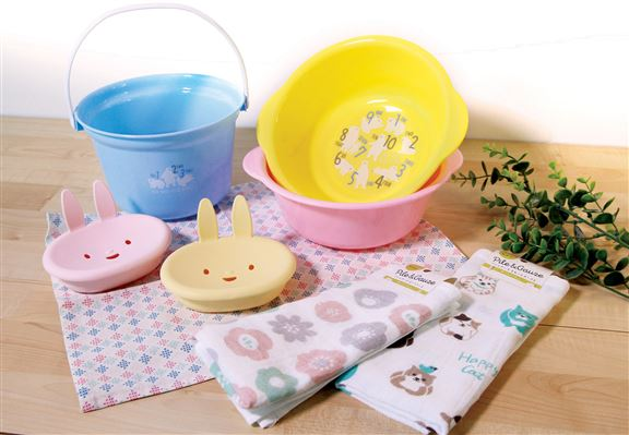 部分日系清潔工具有可愛造型,為你嘅清潔工作加添趣味。