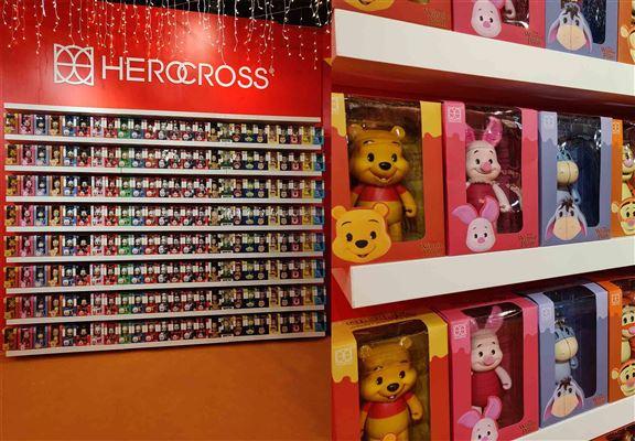 3米高嘅figure wall,鍾情Toy Story和Disney嘅粉絲來打卡吧!