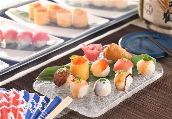 手握波子壽司