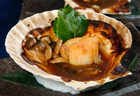 牛油焗日本帆立貝